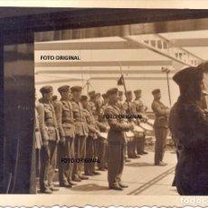 Militaria: DESPEDIDA BUQUE LEGION CONDOR VIGO (PONTEVEDRA) BANDA MUSICA GUERRA CIVIL. Lote 221991158
