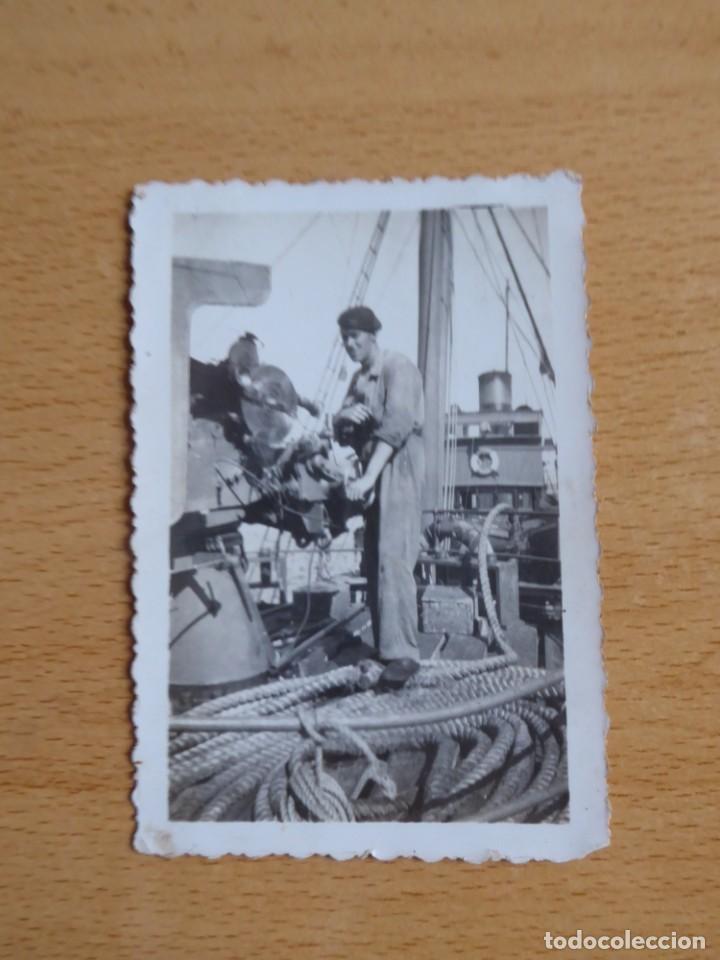 Militaria: Fotografía marinero guardacostas Arcila. Armada 1938 - Foto 2 - 222038268