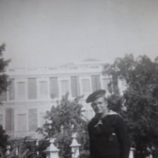 Militaria: FOTOGRAFÍA MARINERO GUARDACOSTAS ARCILA. ARMADA 1938. Lote 222038345