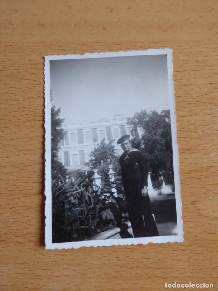 Militaria: Fotografía marinero guardacostas Arcila. Armada 1938 - Foto 2 - 222038345