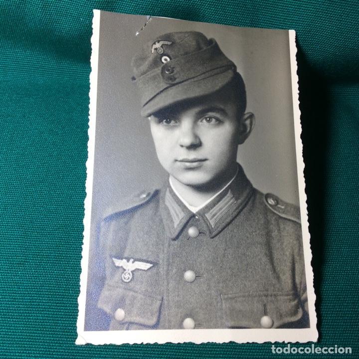 FOTO DE UN SOLDADO ALEMÁN DE LA WEHRMACHT (Militar - Fotografía Militar - II Guerra Mundial)