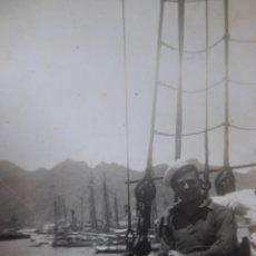 Militaria: FOTOGRAFÍA MARINERO GUARDACOSTAS ARCILA. ARMADA 1938. Lote 222145305
