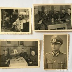 Militaria: LOTE OFICIALES HEER LUFTWAFFE CRUZ DE HIERRO...TERCER REICH.. Lote 222215135