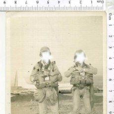 Militaria: FOTOGRAFIA MILITAR SOLDADOS DE LA BRI-PAC PARACAIDISTAS. Lote 222283510