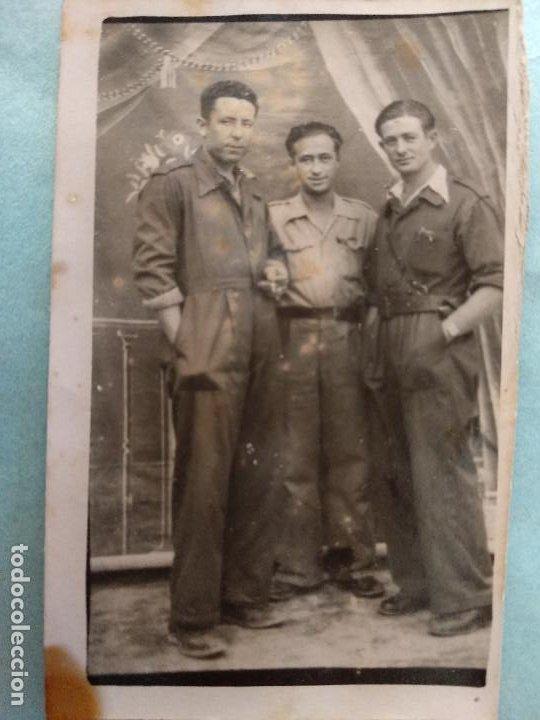 FOTO GUERRA CIVIL MILITARES..AÑO 1938 MAELLA, ZARAGOZA (Militar - Fotografía Militar - Guerra Civil Española)