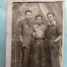 Militaria: FOTO GUERRA CIVIL MILITARES..AÑO 1938 MAELLA, ZARAGOZA. Lote 222690837