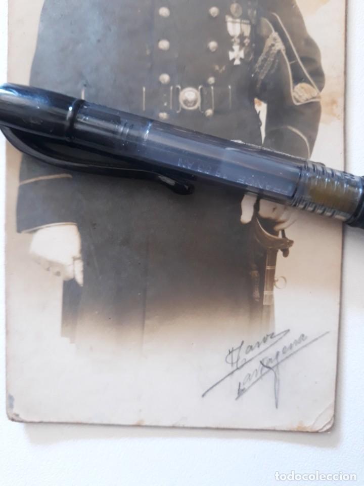 Militaria: OFICIAL DEL CUERPO DE MAQUINAS DE LA ARMADA. EMBLEMA ESPECIALISTA SUBMARINOS. CARTAGENA,AÑOS 20-30 - Foto 3 - 222847208