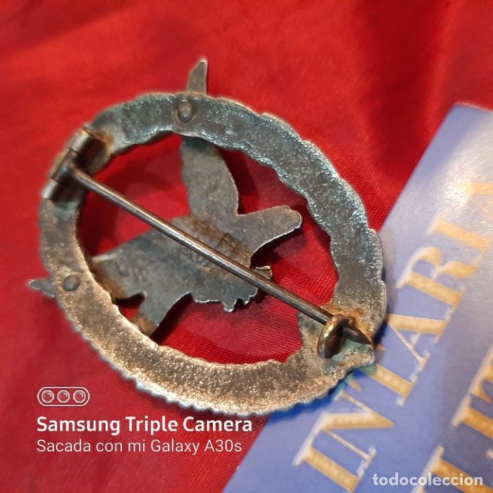 Militaria: Distintivo de Luftwaffe de radio operador de Combate - Foto 3 - 222881837