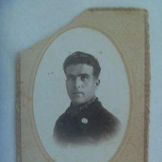 Militaria: GUERRA CIVIL : FOTO DE MILITAR ROJO DE INTENDENCIA, EJERCITO REPUBLICA. VALENCIA, 1938. Lote 222918352