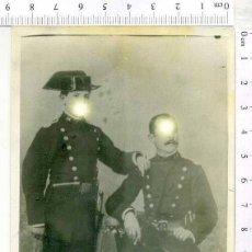 Militaria: MINUTERO FOTOGRAFIA PAREJA DE GUARDIAS CIVILES. Lote 222940203