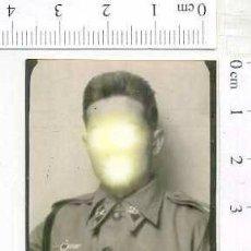 Militaria: MILITAR FOTOGRAFÍA FOTOMATON SOLDADO INFANTERIA APUNTADOR ANTIAEREO. Lote 222940868