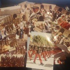 Militaria: LOTE DE 26 FOTOS DE LA JURA BANDERA S. R. A. PRÍNCIPE FELIPE. Lote 223449768