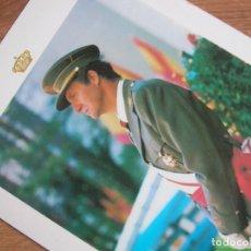 Militaria: RARA FOTOGRAFIA FIRMADA Y DEDICADA. REY JUAN CARLOS COMO CAPITAN GENERAL. AÑO 1983.. Lote 223666052