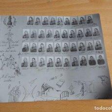 Militaria: FOTOGRAFÍA ORLA OFICIALES PROVISIONALES INGENIEROS DEL EJÉRCITO ESPAÑOL. ACADEMIA GUADALAJARA. Lote 223861121