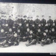 Militaria: FOTOGRAFIA GRUPO SOLDADOS EJERCITO ESPAÑOL EN AFRICA. PRINCIPIOS SIGLO XX. Lote 224481612