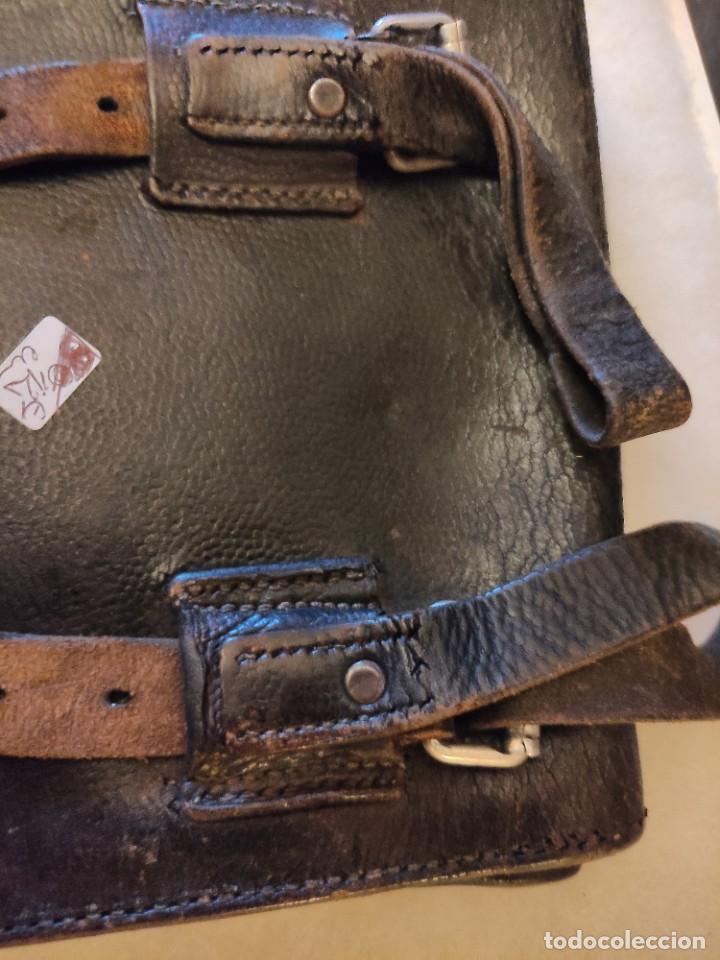 Militaria: Cartera portamapas de la Wehrmacht - Foto 4 - 224623920