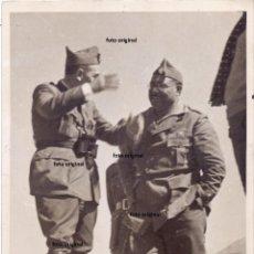 Militaria: GENERAL ANTONIO MATA TENIENTE GENERAL FIDEL DAVILA FRENTE TERUEL 1938 GUERRA CIVIL. Lote 224625048