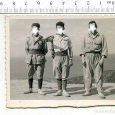 Militaria: FOTOGRAFIA DE LA MILI SOLDADOS DE REGULARES TETUAN. Lote 224670298