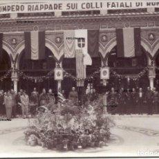 Militaria: RECEPCION SEVILLA QUEIPO DE LLANO CTV ITALIANO MAYO 1937 RARISIMA GUERRA CIVIL. Lote 224884031