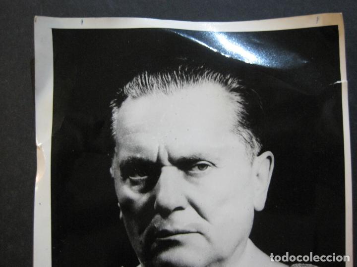Militaria: JOSIP BROZ TITO-MARISCAL DE YUGOSLAVIA-FOTOGRAFIA ANTIGUA-VER FOTOS-(K-1065) - Foto 2 - 225196576