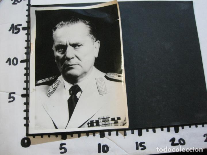 Militaria: JOSIP BROZ TITO-MARISCAL DE YUGOSLAVIA-FOTOGRAFIA ANTIGUA-VER FOTOS-(K-1065) - Foto 6 - 225196576