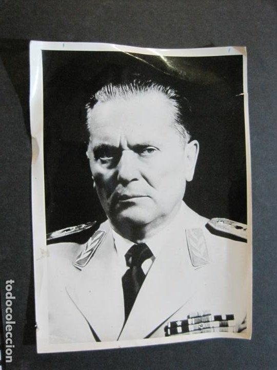 JOSIP BROZ TITO-MARISCAL DE YUGOSLAVIA-FOTOGRAFIA ANTIGUA-VER FOTOS-(K-1065) (Militar - Fotografía Militar - II Guerra Mundial)