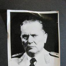 Militaria: JOSIP BROZ TITO-MARISCAL DE YUGOSLAVIA-FOTOGRAFIA ANTIGUA-VER FOTOS-(K-1065). Lote 225196576