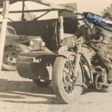 Militaria: FOTOGRAFÍA SOLDADO MOTORIZADO AÑO 1962. Lote 225197982