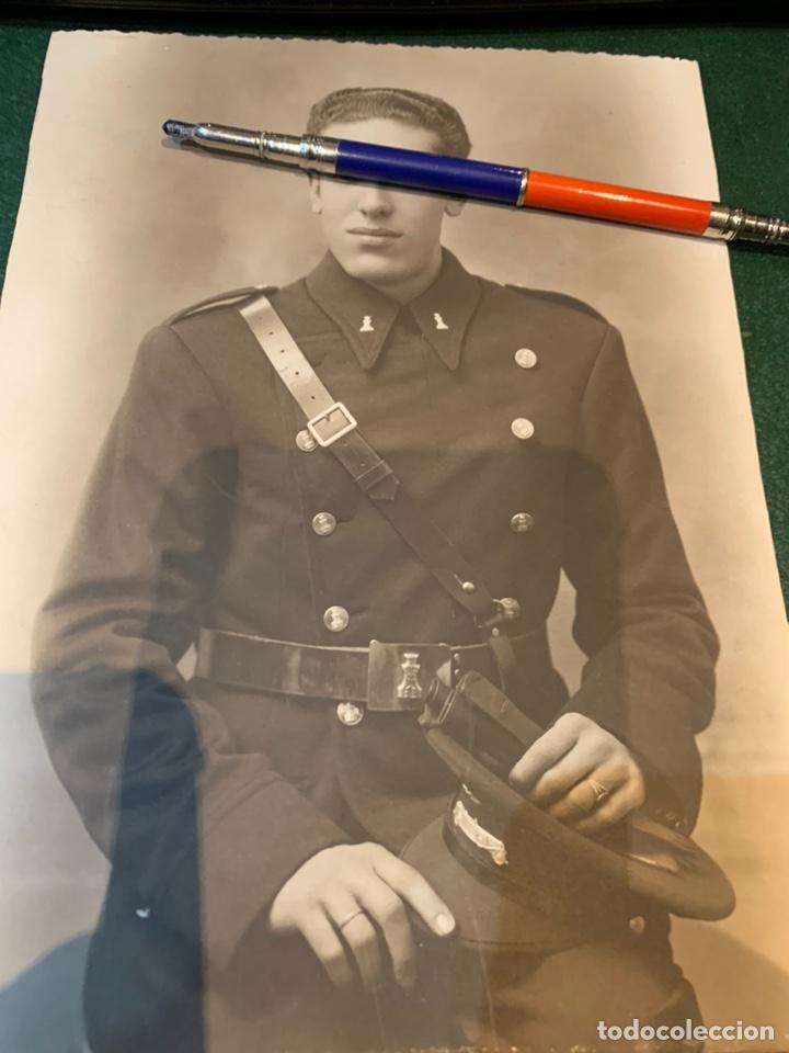 FOTOGRAFÍA SOLDADO INGENIERO - CONDUCTOR - (Militar - Fotografía Militar - Guerra Civil Española)