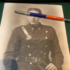 Militaria: FOTOGRAFÍA SOLDADO INGENIERO - CONDUCTOR -. Lote 225201197