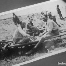 Militaria: FOTOGRAFIA ZOCO BENI GUIL 1935 REVERSO ESCRITO . MARRUECOS. GUERRA RIF. MELILLA. GUERRA CIVIL. Lote 225226030