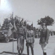 Militaria: FOTOGRAFÍA COMANDANTE HABILITADO LEGIONARIO V BANDERA. CALVACHE. Lote 225635515