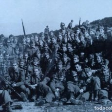 Militaria: FOTO CAMPAMENTO MILITAR SANT CLIMENT SESCEBES (GIRONA) RECLUTAS 1966. Lote 225702270