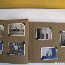 Militaria: 11.- ÁLBUM DE FOTOGRAFÍAS ORIGINALES BASE DE LA RAF EN SHALLUFA EGIPTO 1942. Lote 225949615