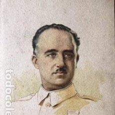 Militaria: GRABADO DE FRANCO. GUERRA CIVIL.. Lote 226117555