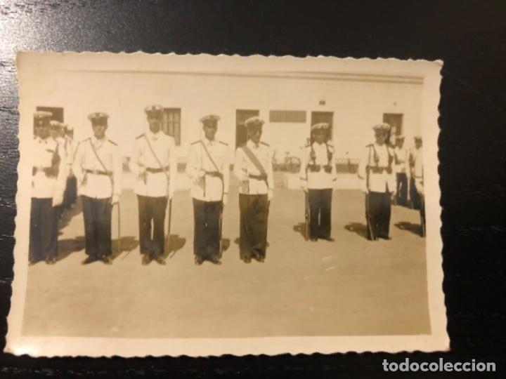 FOTOGRAFÍA INFANTERÍA DE MARINA DESFILE SAN FERNANDO (Militar - Fotografía Militar - Otros)