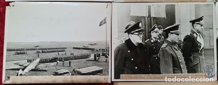 Militaria: 23 FOTOGRAFIAS DE LA II GUERRA MUNDIAL. DIVISION AZUL. ALEMANIA. AÑOS 40. - Foto 6 - 226417232