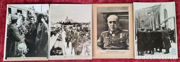 Militaria: 23 FOTOGRAFIAS DE LA II GUERRA MUNDIAL. DIVISION AZUL. ALEMANIA. AÑOS 40. - Foto 8 - 226417232