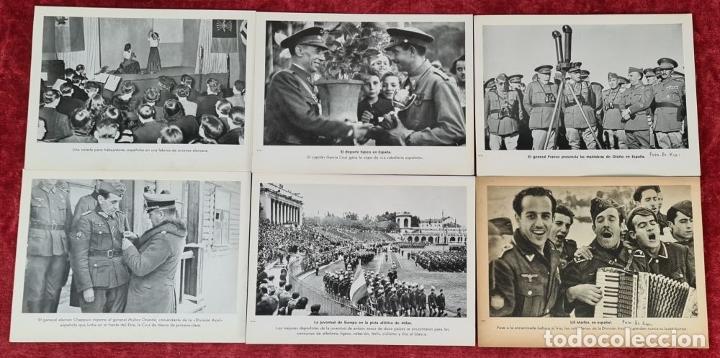 Militaria: 23 FOTOGRAFIAS DE LA II GUERRA MUNDIAL. DIVISION AZUL. ALEMANIA. AÑOS 40. - Foto 9 - 226417232