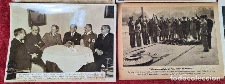 Militaria: 23 FOTOGRAFIAS DE LA II GUERRA MUNDIAL. DIVISION AZUL. ALEMANIA. AÑOS 40. - Foto 10 - 226417232