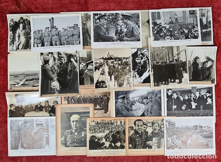23 FOTOGRAFIAS DE LA II GUERRA MUNDIAL. DIVISION AZUL. ALEMANIA. AÑOS 40. (Militar - Fotografía Militar - II Guerra Mundial)