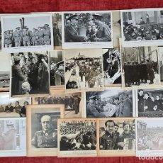 Militaria: 23 FOTOGRAFIAS DE LA II GUERRA MUNDIAL. DIVISION AZUL. ALEMANIA. AÑOS 40.. Lote 226417232