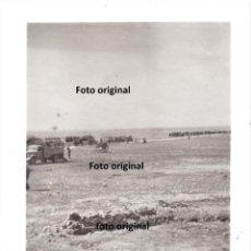 Militaria: TRASLADO TROPAS NACIONALES FRENTE TERUEL 1938 GUERRA CIVIL. Lote 226420161