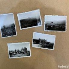 Militaria: GUERRA CIVIL / FOTOS / CRUZ DE LA GALLEGA / AGOSTO-SEPTIEMBRE 1938. Lote 227861160