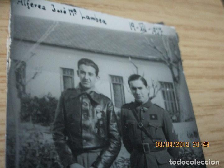 Militaria: AVIACION JOSE MARIA LAMBEA PILOTO CONDECORADO EN PLENA GUERRA CIVIL FRENTE ARAGON XII 1937 LEGION - Foto 3 - 172983628