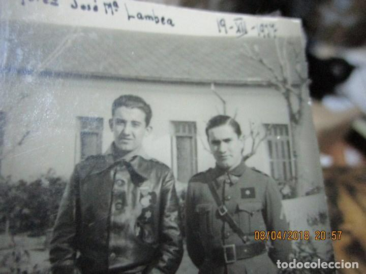 Militaria: AVIACION JOSE MARIA LAMBEA PILOTO CONDECORADO EN PLENA GUERRA CIVIL FRENTE ARAGON XII 1937 LEGION - Foto 8 - 172983628