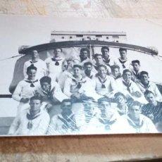 Militaria: FOTO DOTACION MARINA DE GUERRA EN EL MEDITERRANEO OCTUBRE DE 1938. Lote 228556673