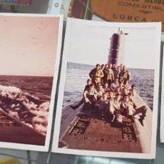 Militaria: ANTIGUAS FOTOGRAFIAS MILITARES SUBMARINO MARINEROS NAVAL. Lote 228719465