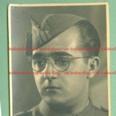Militaria: + FOTO DE UN SARGENTO .GUERRA CIVIL. FECHA 7/12/39 MEDIDAS 8 X 13 CM. Lote 228837540