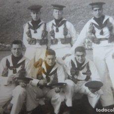 Militaria: FOTOGRAFÍA MARINEROS ARMADA ESPAÑOLA. CIM CARTAGENA. Lote 229069395